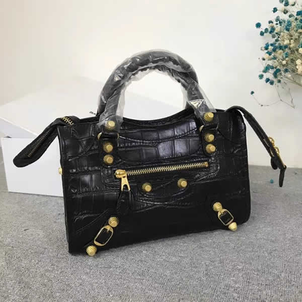 Replica Balenciaga Black Mini City Motorcycle Bag Classic Bag