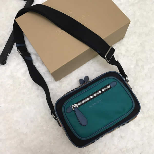 New Cheap Burberry Green Vintage Crossbody Backpack