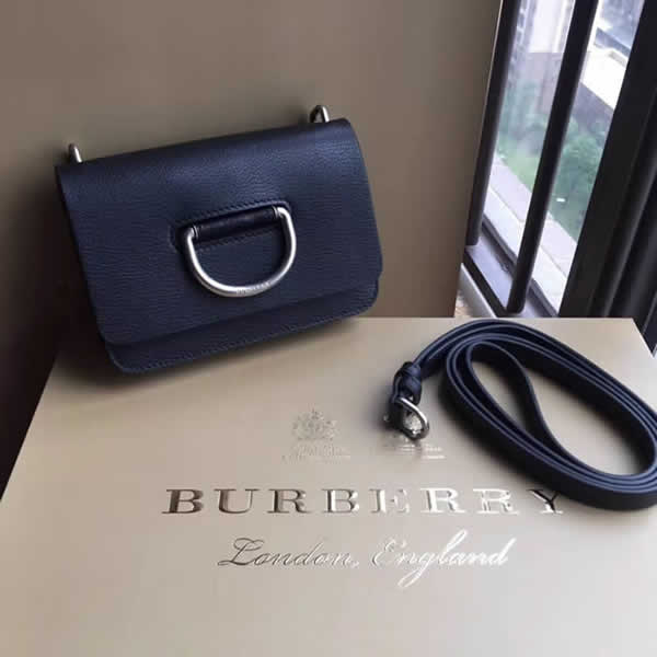 Fake Burberry Black Trench Shoulder Crossbody Bag 40767061