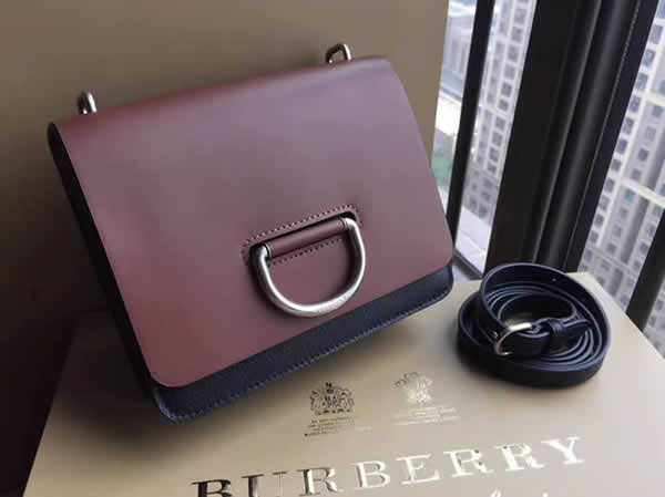 Fake New Burberry Trench Brown Crossbody Shoulder Bag 40766441