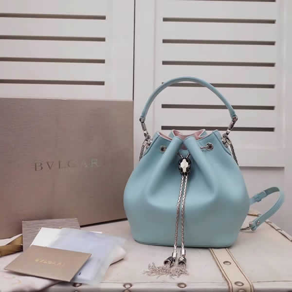 2019 New Bvlgari Blue Tote Shoulder Messenger Bag High Quality