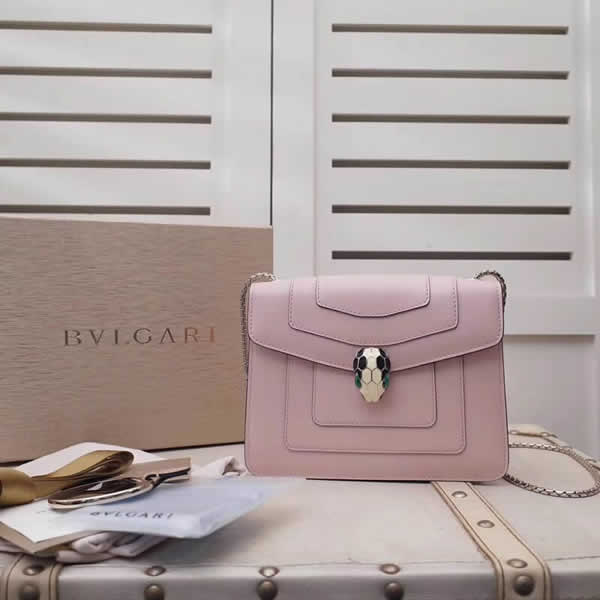 Bvlgari Serpenti Forever Pink Shoulder Bag With 1:1 Quality