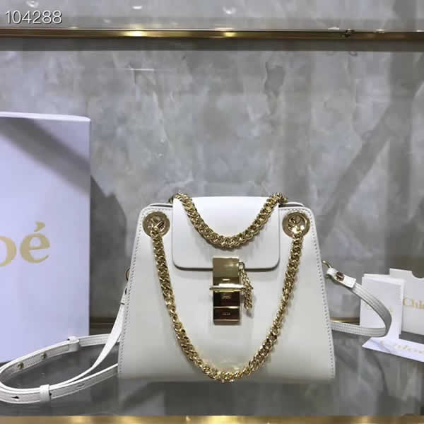 Hot Sale Fake Discount Chloe Annie White Shoulder Bag Outlet