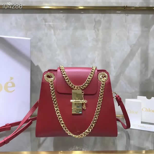 Hot Sale Fake Discount Chloe Annie Red Shoulder Bag Outlet