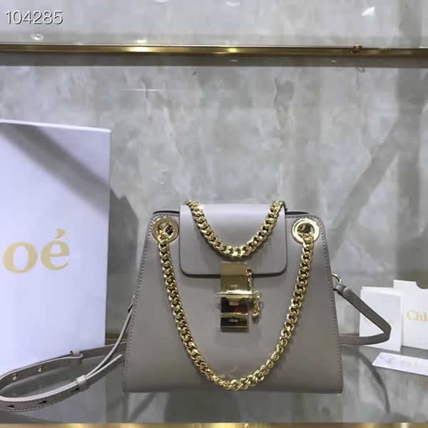 Hot Sale Fake Discount Chloe Annie Gray Shoulder Bag Outlet