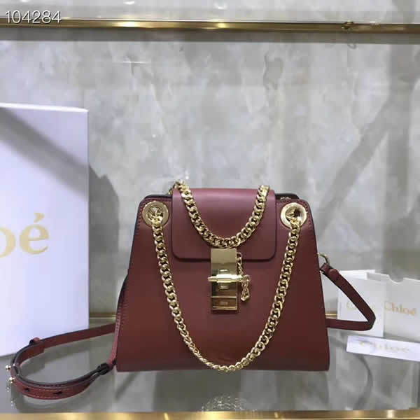 Hot Sale Fake Discount Chloe Annie Brown Shoulder Bag Outlet