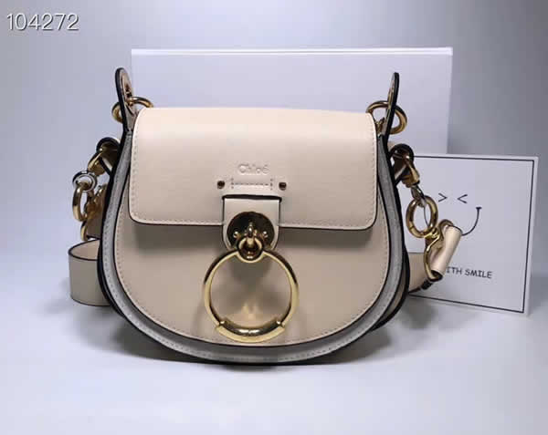 Replica Discount New Chloe Tess Khaki Flap Shoulder Crossbody Bags
