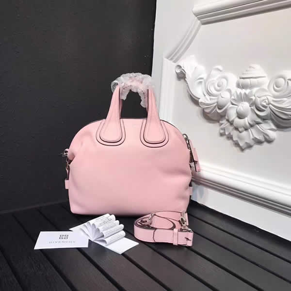 Fake 1:1 Quality Givenchy Handbag Pink Messenger Bag 0168