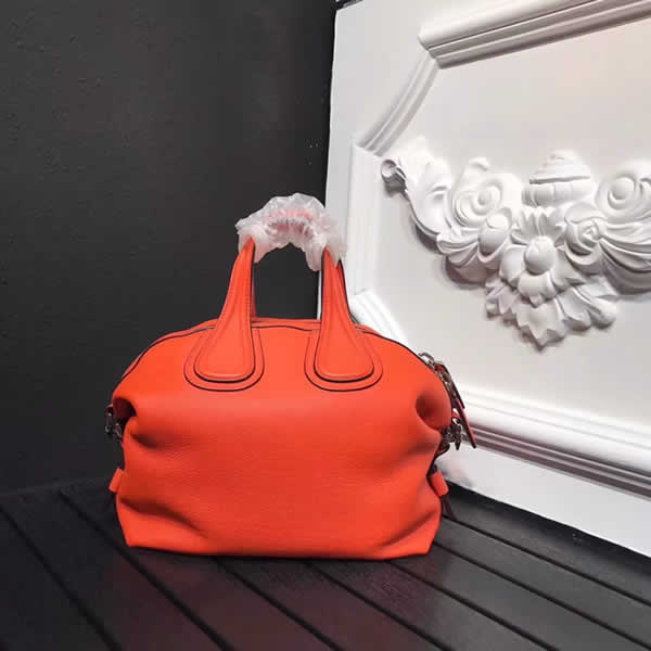 Fake 1:1 Quality Givenchy Handbag Orange Messenger Bag 0168
