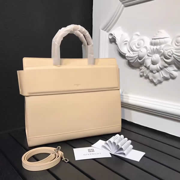 Fashion Cheap Givenchy Horizon Beige Tote Bag Top Quality 0188