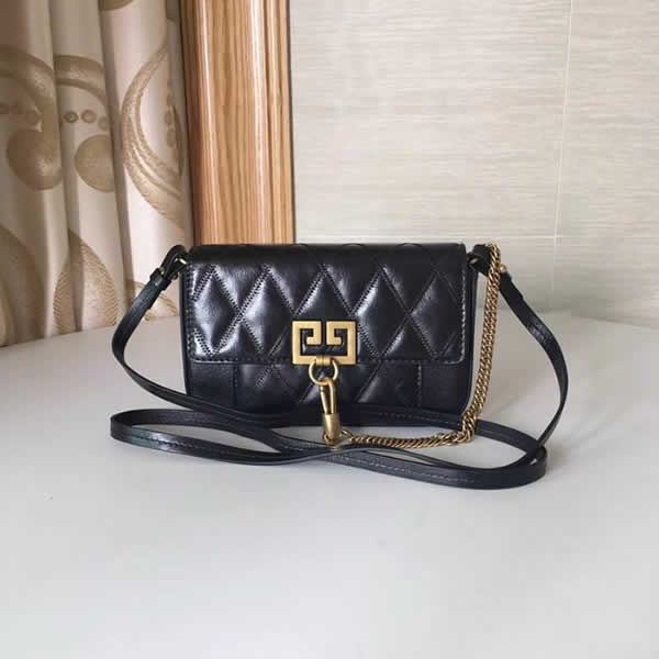 Replica Givenchy Autumn And Winter New Black Crossbody Shoulder Bag
