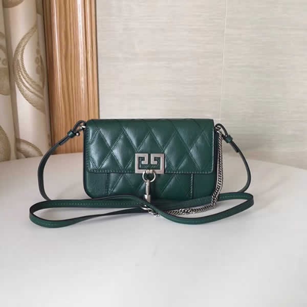 Replica Givenchy Autumn And Winter New Green Crossbody Shoulder Bag