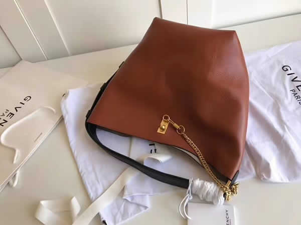 New Replica Givenchy Brown Clare Waight Keller It Bag Gv Bucket