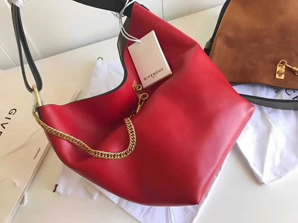 New Replica Givenchy Red Clare Waight Keller It Bag Gv Bucket