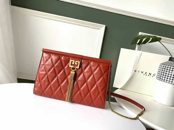 Fashion New Givenchy GEM Orange Tote Shoulder Bag Crossbody Bag