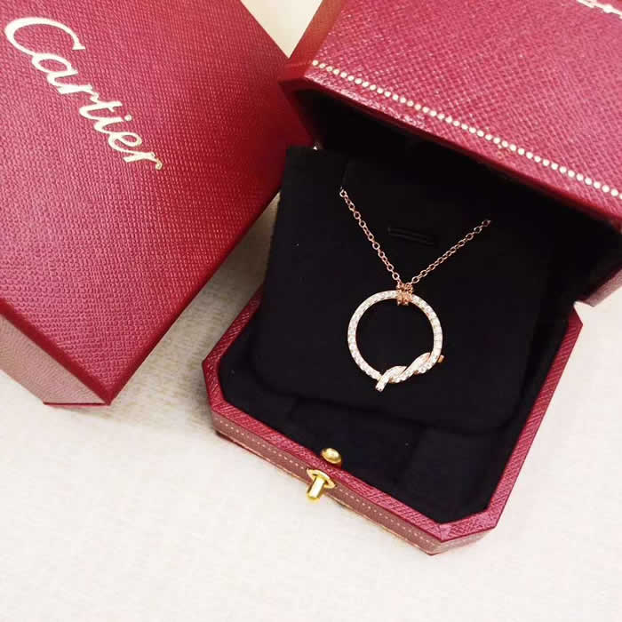 Girl Choker Necklace Jewelry Gift Fake Cartier Necklace 05