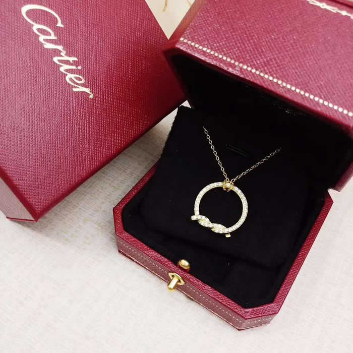 Girl Choker Necklace Jewelry Gift Fake Cartier Necklace 07
