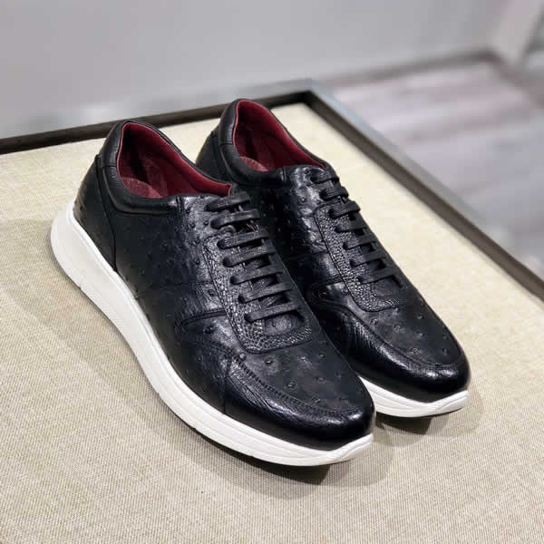 New High Quality Prada Leather shoes Men Shoes Lace-Up Men Dress Shoes Business Oxfords Male Formal Shoes loafers