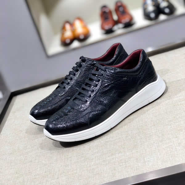 Wholesale Designer Prada Men Casual Shoes Sneakers Fashion Leather Shoes Men Shoes