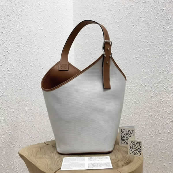 Wholesale New Loewe Casual White Tote Shoulder Bag