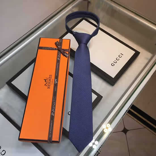 Classic Men Business Luxury Tie Replica Top Quality Hermes Ties 08