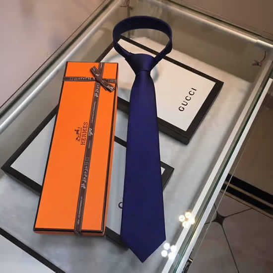 Classic Men Business Luxury Tie Replica Top Quality Hermes Ties 14