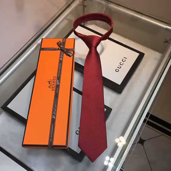 Classic Men Business Luxury Tie Replica Top Quality Hermes Ties 16