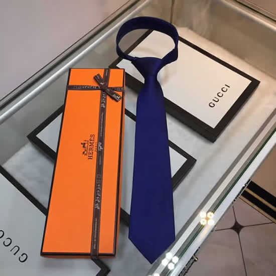 Classic Men Business Luxury Tie Replica Top Quality Hermes Ties 20