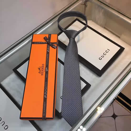 Classic Men Business Luxury Tie Replica Top Quality Hermes Ties 21