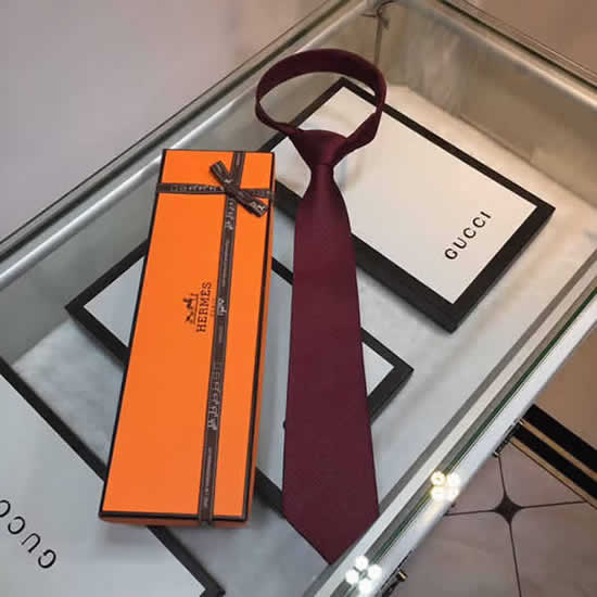 Classic Men Business Luxury Tie Replica Top Quality Hermes Ties 22