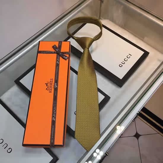 Classic Men Business Luxury Tie Replica Top Quality Hermes Ties 23