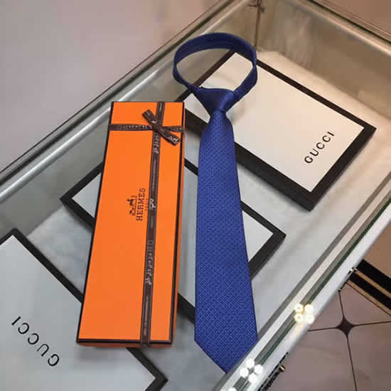 Classic Men Business Luxury Tie Replica Top Quality Hermes Ties 24