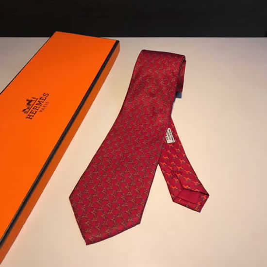 Classic Men Business Luxury Tie Replica Top Quality Hermes Ties 27