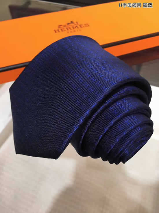 Classic Men Business Luxury Tie Replica Top Quality Hermes Ties 33