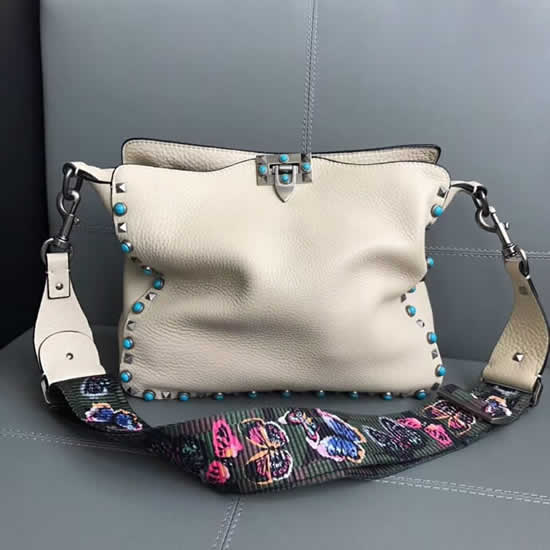 Hot Sale High Quality Valentino White Shoulder Bag 50031m
