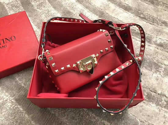 Replica New Valentino Red Flap Bag Crossbody Bag 0045