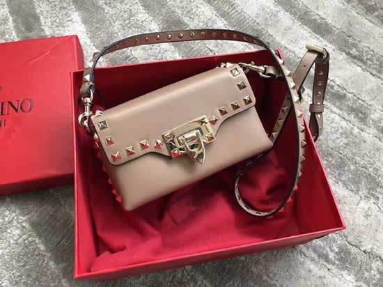 Replica New Valentino Pink Flap Bag Crossbody Bag 0045