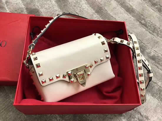 Replica New Valentino White Flap Bag Crossbody Bag 0045