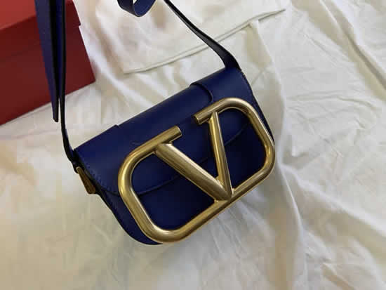Knock Off New Valentino Garavani Maxi High Quality Blue Crossbody Bag