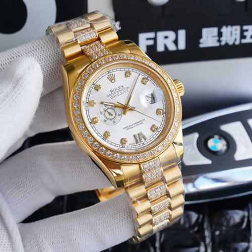 Replica Rolex Swiss Day Date Man Mechanical Movement Watches