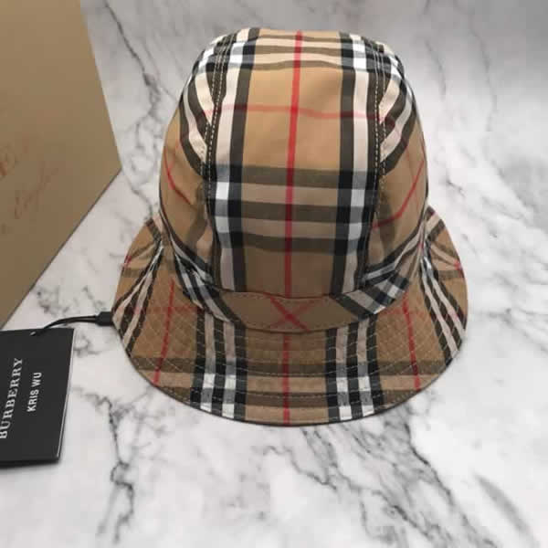 Female Burberry baseball cap spring ladies hat classic retro fashion hat cotton new
