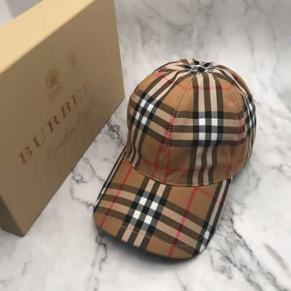 Burberry Baseball Cap Spring Summer Cotton Hat Unisex Snapback Hip Hop Caps Men Women