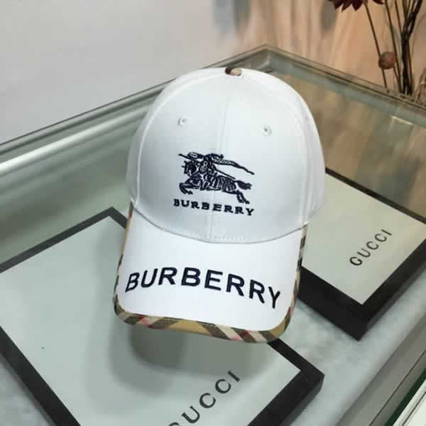 Burberry new baseball cap fashion hip hop hat summer visor outdoor sports caps adjustable hats