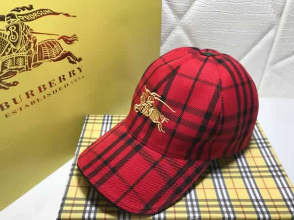 Brand Burberry Baseball Cap Spring Autumn Cotton Hats For Women And Men Snapback