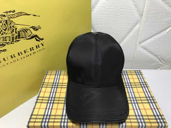 Street Wear Full Burberry Caps Snapback Baseball Hat For Men Women Hip Hop Cap