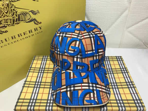 Burberry Men and women sun hat Baseball caps female summer wild hat student couple cap male