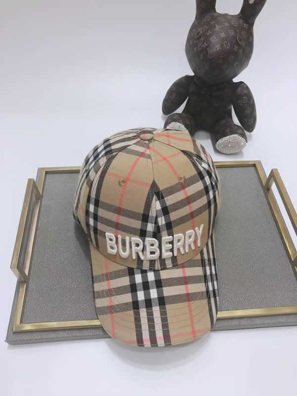Great Hat Unisex Cotton Adjustable Burberry Baseball Cap Designer Fashion Cap Online