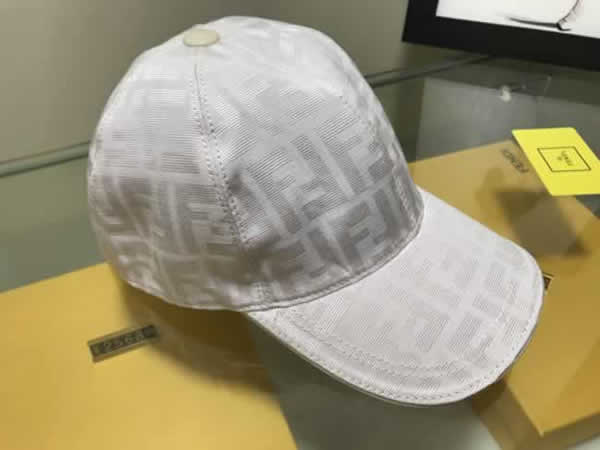 Fendi new fashion baseball cap fashion outdoor cotton breathable caps adjustable men women universal dad hat