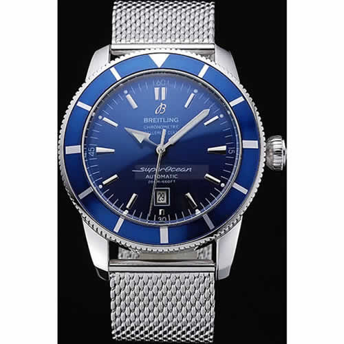 Breitling Certifie SuperOcean Blue Dial Blue Watch