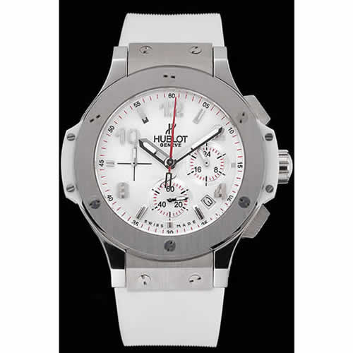 Hublot Big Bang White Strap White Dial Watch